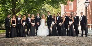 elegant black and white wedding elegant black and white wedding party