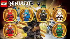 LEGO Ninjago - WU-CRU All Levels Suits - YouTube