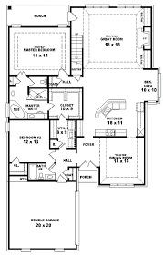 one bedroom house plans with basement 4 bedroom house plans walkout basement with 1 story one