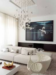 glass ball chandelier living room contemporary with accessories airy banana bowl
