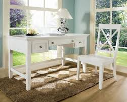 white desk office. Home Office With Outside View And Small Rectangle White Writing Desk Plus High Back Chair