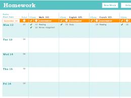 Free Homework Planner 11 Free Homework Schedule Template Ms Word And Ms Excel Schedule