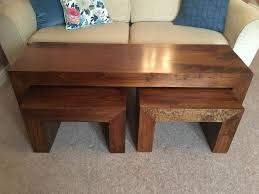 mango wood coffee table setin selby north yorkshire next dakota mango wood long john