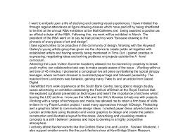 personal statement for arts application a level miscellaneous  document image preview