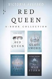 victoria aveyard red queen series 4 books collection set by victoria aveyard