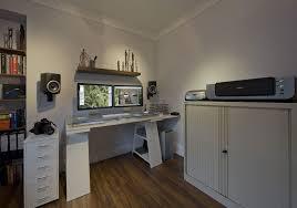 futuristic home office. Clean And Futuristic Home Office I