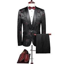 Patterned Tuxedo Amazing Black Patterned Tuxedo KOSTAREFF