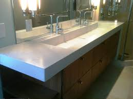 sinks undermount trough sink 36 inch undermouth bathroom sink trought sink for bathroom with large