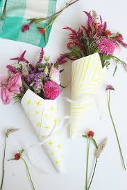 diy watercolor flower bouquet wraps