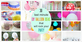 diy balloon ideas at craftionary net
