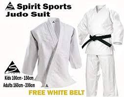 Judo Training Uniform 550grm Spirit Sports 100 Cotton