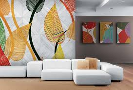 the digital print solution for wall decoration
