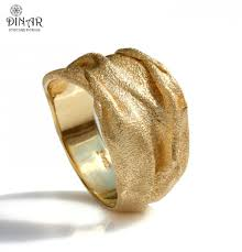 gold wedding band 18k gold men band 14k gold thick wide organic designer band handmade israel dinar jewelry design texture sand