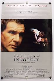 Presumed Innocent Film New PRESUMED INNOCENT Harrison Ford Original Movie Post