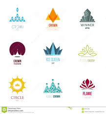 Vector Illustration, Graphic Elements Editable For Design With Crown