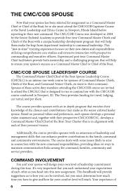 guidelines for the spouses of command master chiefs and chiefs of guidelines for the spouses of command master chiefs and chiefs of the boat by naval services familyline page 8 issuu
