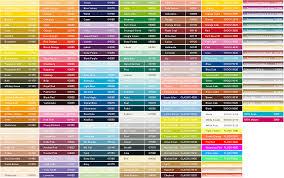 Montana Gold Spray Paint Colour Chart Acrylic Spray Paint
