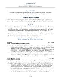 Sample Social Media Resume Key Achievements Marketing Resume Krida 83