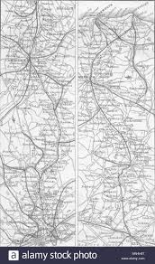 Gt Eastern Rail Cambridge Ely Norwich Yarmouth 1874 Old