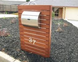 modern mailbox etsy. Fine Mailbox Semi Curve Lockable Mailboxes Stainless Steel Modern Urban Style  QUALITY  IS TOP Inside Mailbox Etsy M