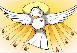 Resultado de imagen de espiritu santo para niños