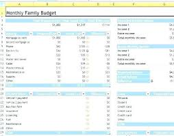 Excel Budgeting Templates Monthly Project Budget Page Capital ...