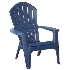realcomfort midnight patio adirondack chair