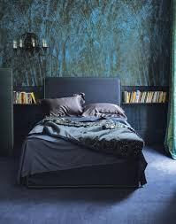 Teal Bedroom Wallpaper Make Your Bedroom Gorgeous With Wallpaper The Room Edit