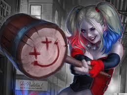 Harley Quinn agus Smiley casúr ...