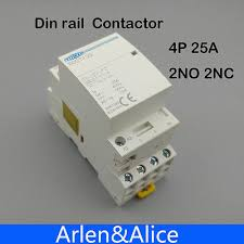 ct1 4p 20a 2nc 2no 220v 230v 50 60hz din rail household ac toct1 4p 25a 2nc 2no 220v 230v 50 60hz din rail household ac contactor