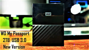 Unboxing and Review of <b>WD My Passport</b> 2TB <b>USB</b> 3.0 New ...