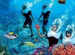 underwater restaurant disney world. Modren Disney Underwater Hikers At SeaVenture And Restaurant Disney World