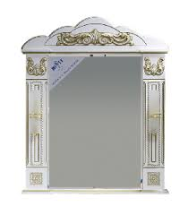 <b>Зеркало Misty Барокко</b> 82 <b>Л</b>-Бар02080-013 белый купить в Москве