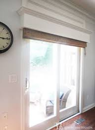 sliding glass door window treatment ideas home design