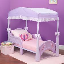Delta Children Children's Girls Canopy for Toddler Bed & Reviews ...