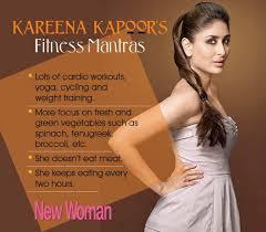 Kareena Kapoor Diet Chart For Size Zero Celebrity Fitness Kareena Kapoors Weight Loss Regime Post