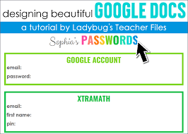 Download for free in png, svg, pdf formats 👆. Designing Beautiful Google Docs Ladybug S Teacher Files