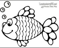 Small Picture Rainbow Fish Coloring Page Fish Coloring Pages Pdf Fish Coloring