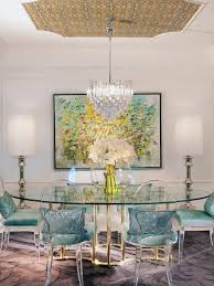 Outstanding Phillip Stark Ghost Chairs : Beautiful And Glamorous Eclectic  Dining Room With Philippe Starke Style