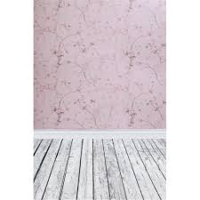 2019 vintage pink flowers damask photography backdrops wallpaper vinyl printed baby newborn props kids wedding photo shoot background wood floor from