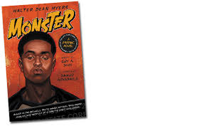 walter dean myers monster graphic novel