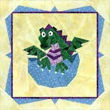 Dragon Lady Quilts Check It Out – boltonphoenixtheatre.com & Baby Dragon With Border Paper Pieced Quilt Pattern At Paper Panache Dragon  Lady Quilts Adamdwight.com