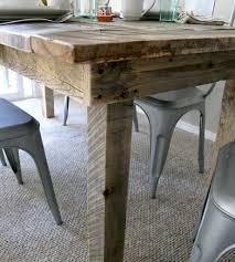 barnwood kitchen table