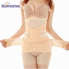 <b>3in1</b> Belly/Abdomen/Pelvis Postpartum Belt Body Recovery ...