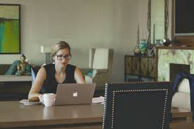 woman office furniture. Laptop, Desk, Computer, Writing, Apple, Table Woman Office Furniture