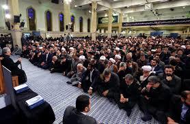 Image result for مراسم ترحیم آیتالله هاشمی رفسنجانی در حسینیه امام خمینی(ره)
