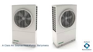 Heatpump Installation A Class Air Source Heat Pump Nutech Renewables Ltd