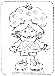 strawberry shortcake coloring page best of vine strawberry shortcake coloring pages