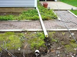 underground gutter drainage. Downspout Drainage Options. Modren Underground Running Downspouts Home Improvement Wilson Actor To Gutter