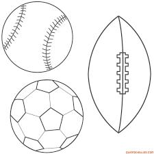This Baseball Soccer Ball And Football